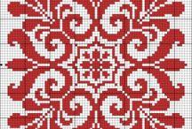 Strikke mønster / Strikkemønstre