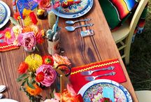 Mexican dinner party