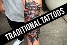 < Traditional Tattoos > / Classic and traditional tattoos gathered from all of the best tattoo artists around the globe.
