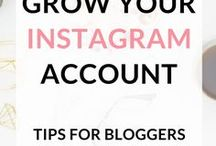 Instagram Tips / Blog posts with tips on Instagram