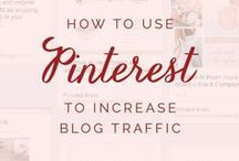 Pinterest Tips / Blog posts on Pinterest