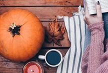 Autumn mood / My Favourite Season: Autumn! Colours, cosiness, light, soft tones, pumpkins, blankets and cups of tea!