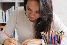 O mundo das cores / Cores, paletas, estudos... inspiração para além do mundo das maquiagens.