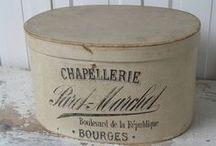 Cappelliere - hatbox - boite a chapeau