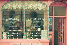 Cafés and Bakery & Sweet Shops