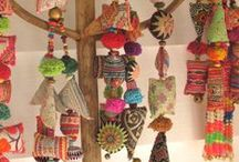 Tassels, Garlands, Mobiles and Wind Dancers