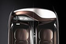 interior design / car design