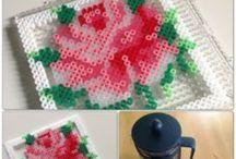 Hama bead craft