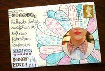 Letter/envelope decorating
