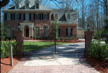 fences and gates / A grouping of some interesting projects revolving around fences and gates....  Many in the Atlanta, GA area by ARNOLD Masonry and Concrete.