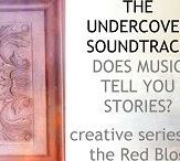 Books on The Undercover Soundtrack / Once a week I host a writer who uses music as part of their creative process – perhaps to open a secret channel to understand a character, populate a mysterious place, or explore the depths in a pivotal moment.