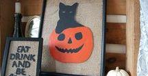 Goodwill®  & Halloween Decorations / Create DIY Halloween decorations from Goodwill finds!