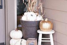 Fall & Thanksgiving Decor