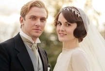 Downton Abbey Weddings / LOVE the elegance of the Downton Abbey weddings!