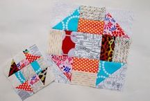 Scrappy Stash Along Ideas / by Brenda - Just a Bit Frayed