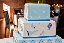 College-Themed Wedding Details: UNC