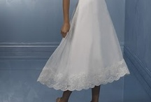 Wedding Dresses: Tea Length / Love these tea-length dresses for an afternoon, outdoor, destination wedding or unique celebration!