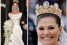 Royal Wedding Gowns / Fabulous, regal gowns from royal families all over the world