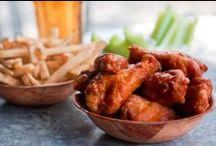 """The Top 50 Best Wings in the U.S. for the Super Bowl / And just for fun, we also polled the chefs to see how the pros weigh in on that those age-old wing-eating questions: """"Blue cheese v. ranch?"""" and """"Celery v. carrot sticks?"""" answers below in the infographic. See the full list of wing favorites on chefsfeed.com/blog"""