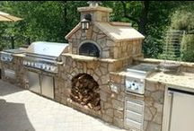 Outdoor Pizza Ovens / Some fantastic Pizza Oven ideas!