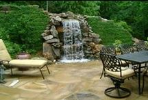 Ponds and Pondless waterfalls / A sampling of many of ARNOLD Masonry and Landscape's ponds and pondless waterfall projects throughout Metro Atlanta.