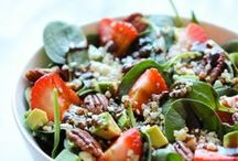 Foodies :: Salads / Yummy looking salads and dressings - most vegan and hopefully most delicious!