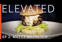 Elevated video series / Where chefs talk about the challenges they've faced in their careers and how they've overcome them.