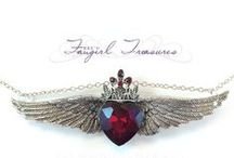 Fangirl Treasures Jewelry / Fangirl Charm Jewelry and Pendants. / by BreAnna Friedman