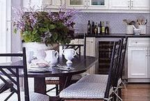 Dream Kitchen / All things kitchen. From stoves to kitchen tables - wall colours and backsplash!