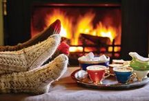 A Sawday's Christmas / Feeling festive? Get cosy and celebrate the season. www.sawdays.co.uk