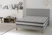 MATELAS EMBLEMATIQUE / Un matelas haut de gamme, un look moderne et plusieurs choix de confort !