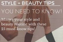 Fashion Tips & Tricks / Easy and simple fashion tips and tricks on styling outfits.
