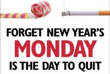 Quitting on New Year's? / Quitting on New Year's? Get free tips every Monday and stay quit in 2013 at www.facebook.com/QuitMonday.