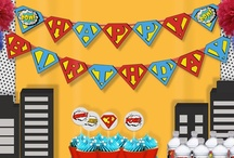 Superhero Printables / Cute superhero party printables.