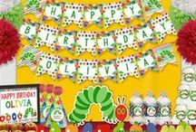 The Very Hungry Caterpillar Birthday Ideas / The Very Hungry Caterpillar Birthday Ideas The Very Hungry Caterpillar Birthday invitations The Very Hungry Caterpillar Birthday printables
