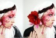 Valentine Makeup ♥ Collab w/ Medusadollmaker ♥ / Fotos del maquillaje realizado en colaboración con Medusadollmaker y productos utilizados.