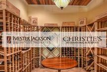 Wine Cellars and Butler Pantry