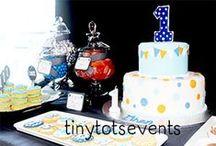 Silk and Cedar Events: Orange & Blue 1st Birthday Party / Orange and Blue boys 1st Birthday party styled and created by Silk and Cedar Events in Melbourne, Australia