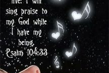 O SING unto the Lord a new song........Psalm 96:1 / Oh Holy Spirit, teach me to praise the Lord in Spirit and Truth. / by Melissa Me