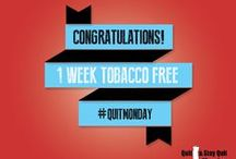 Quit Monday: Badges / Congratulatory honor badges for former smokers.