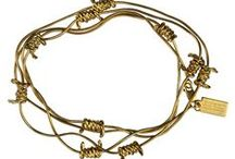 Barbed Wire / Barbed wire-inspired chains, bracelets, rings and ear cuffs...