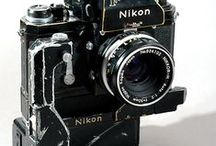 Iconic Nikon / I've always loved the purposeful tactile quality of Nikon equipment which has been consistent from the F cameras of the 60s to the latest D bodies.