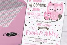 Pink and Brown Owl Baby Shower
