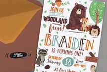 Woodland Birthday Party Ideas