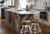 Modern & Old Decor Mix / a mix of modern, plus either vintage, rustic, antique, industrial, or primitive design or home decor!