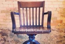Chairs / Vintage, reupholstered, repurposed, refinished, antique, or otherwise cool chairs.
