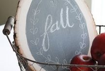 Cozy Fall Projects / Fun home decor projects & ideas for Fall decorating.