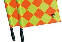 Soccer Referee Flags / These professional soccer referee flag kits are superior in quality and style. Designed for professional soccer leagues, these kits are bright, weather-resistant, and tested for rugged use.