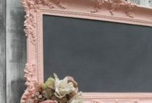 Chalkboards. Natural and Homemade.