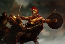 Best Warriors, Knights & Heroes / Only the best images of medieval warriors, knights, heroes, barbarians, swordsmen and other such battlers. Enjoy!